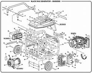 Honda 5500 Watt Generator Parts
