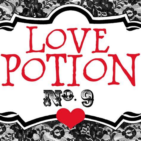 love potion  printable   bites