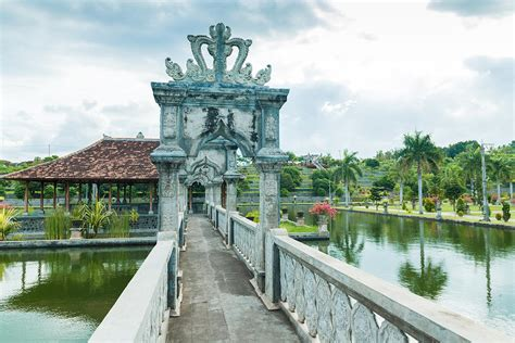 Karangasem Water Temple Palace In Bali Photograph By