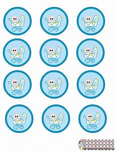 6 best images of round printable labels for favors free With baby shower label template for favors