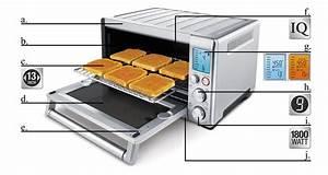 Toaster Oven Convection 1800 Watt High Quality Lcd Screen Baking Pans Rack Set