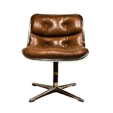 knoll pollock chair replica 2 original leather knoll pollock executive swivel side arm