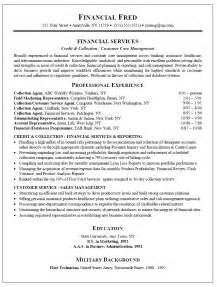 collections manager resume exles resume sle for collections