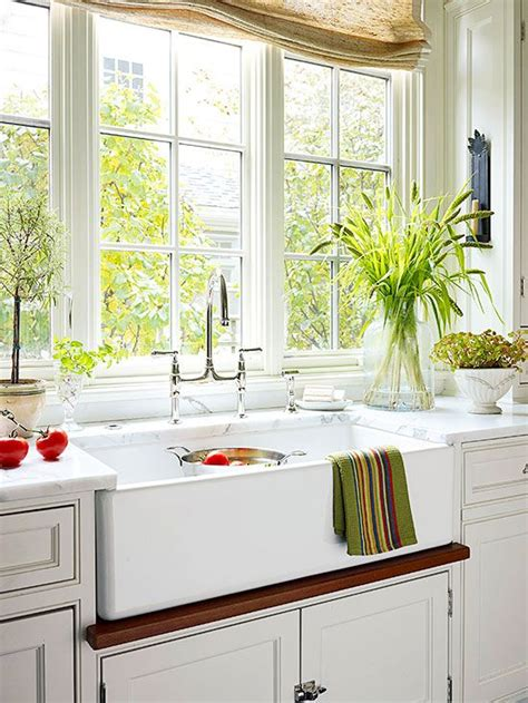 White Cottage Kitchen Ideas  Traditional, Apron Sink And