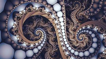 Spiral Fractal Pattern Unusual 3d Wallpapers Graphics