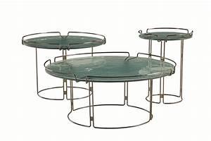 Table Basse Ronde Marbre : table basse ronde en marbre bijou by roche bobois design fabrice berrux ~ Teatrodelosmanantiales.com Idées de Décoration