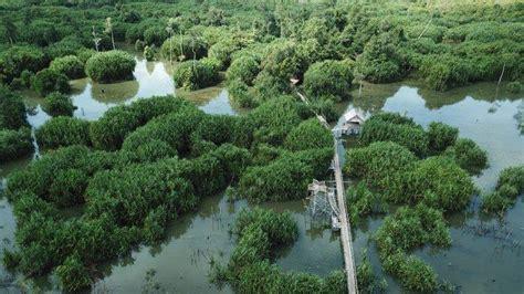 geosite geopark belitong  belitung timur terdampak