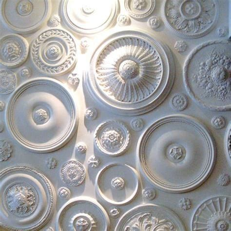 two ceiling medallions cheap wall medallions what s by jigsaw design