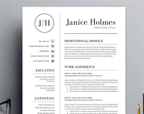 Resume Advice by Resume Template Cv Template Cover Letter Resume