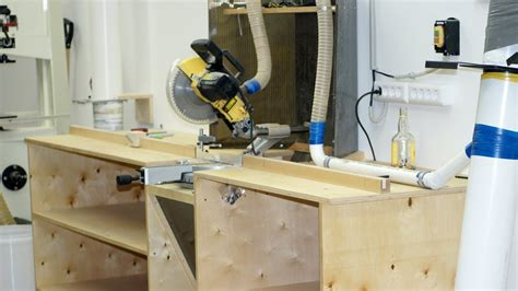 building  miter  workbench izgotovlenie stola dlya