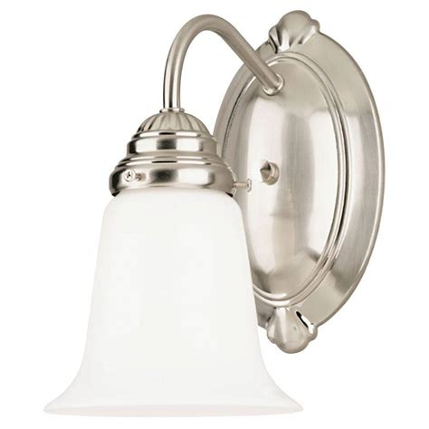 Westinghouse 1light Brushed Nickel Interior Wall Fixture