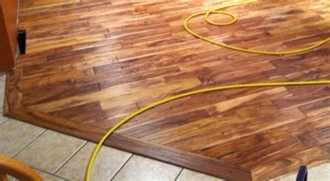 How Do You Install Carpet by How Do I Install Transition Molding Between My New