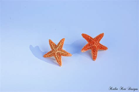 pictures of small small starfish post earrings starfish post earrings real
