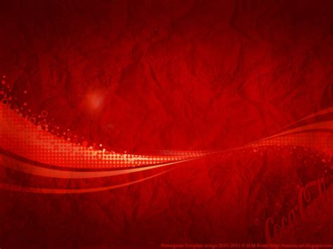 hmremi art powerpoint template design coca cola