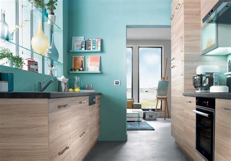 peinture cuisine bleu cuisine bleu marine couleur peinture pour salon photos