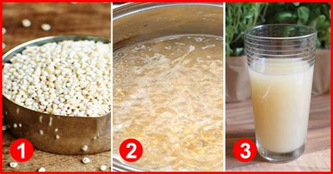 prepare barley water  weight loss