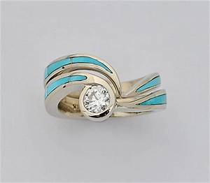 Turquoise wedding ring for Mens turquoise wedding rings