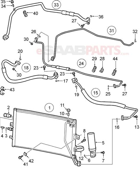 Saab 9 5 Acc Wiring Diagram by Esaabparts