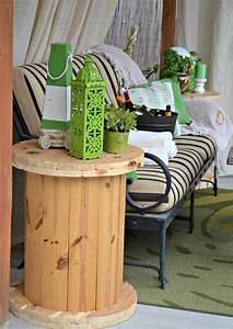 Brilliant Diy Cable Spool Furniture To Make For Your Home
