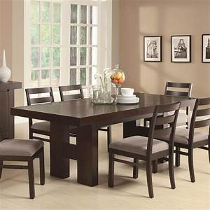 Toronto double pedestal dining set at gowfbca true for Dining room tables images