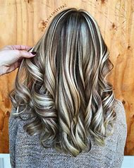 Light Brown Hair with Blonde Highlights and Lo…