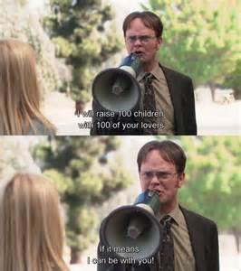 Office Dwight and Angela