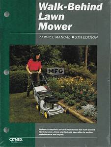 Walk Behind Lawn Mower Service Manual