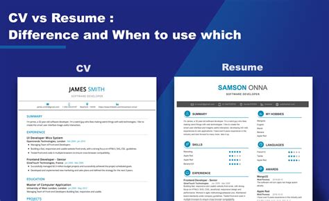 What Is The Difference Between Cv And Resume by What Is The Difference Between Cv And Resume 2019 Setresume