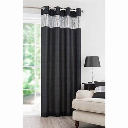 Curtain Sequin Vegas Panel Curtains Lined Fully