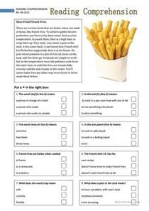 free reading comprehensions reading comprehension 2 worksheet free esl printable worksheets made by teachers
