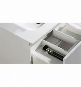 Meuble Double Vasque Design : pack anabel 1500 meuble 2 tiroirs vasque double miroir o 39 design ottofond prix mini ~ Mglfilm.com Idées de Décoration