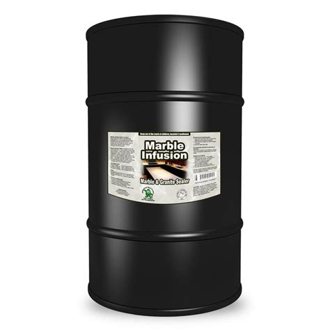 marble infusion marble and granite sealer 55 gallon