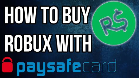 buy robux  paysafecard  roblox youtube