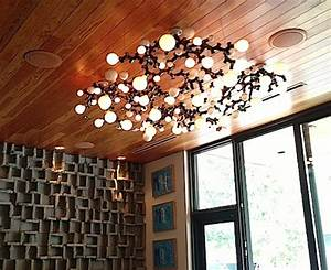 A bright idea try this diy light bulb chandelier