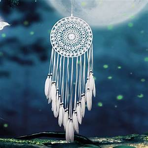 Vintage Enchanted Forest Mini Dreamcatcher Handmade Dream