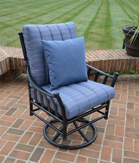 Cast Aluminum Patio Chairs by Amia 5 Luxury Cast Aluminum Patio Furniture