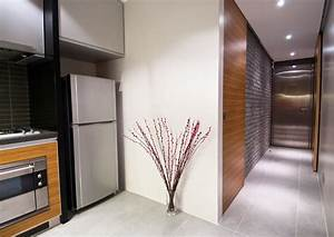 hallway kitchen design kitchentoday With kitchen cabinets lowes with hong kong wall art