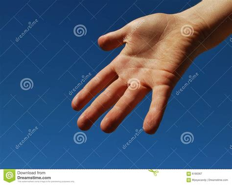 Give Me A Hand Royalty Free Stock Photography