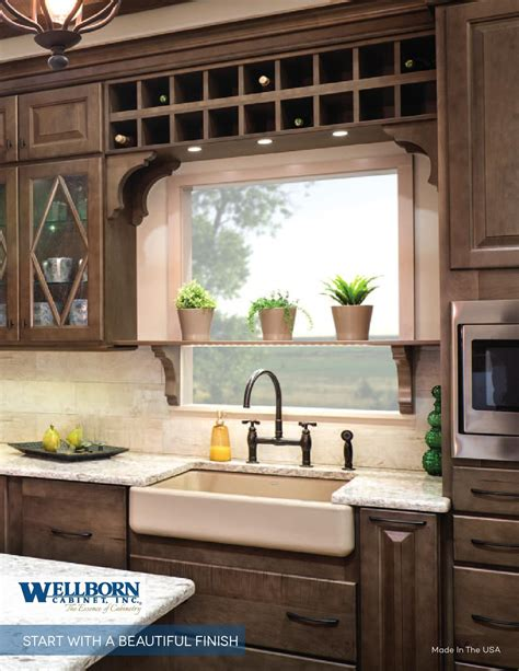 how to paint a kitchen cabinet start with a beautiful finish by wellborn cabinet inc issuu 8786