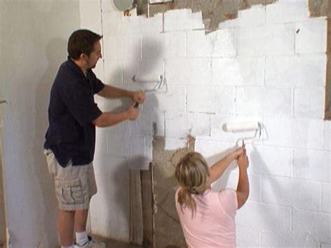 How To Waterproof Interior Basement Walls - best 25 painting basement walls ideas on
