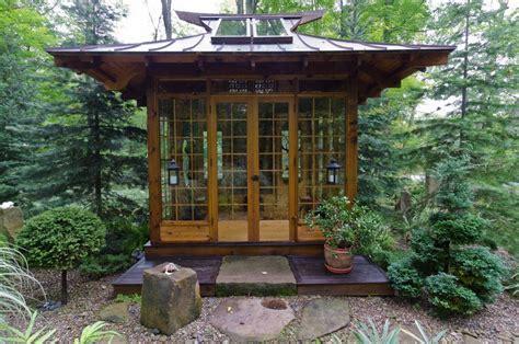 japanese garden tea house  japanese tea house