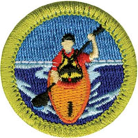 three fires council mb canoe or kayaking merit badges