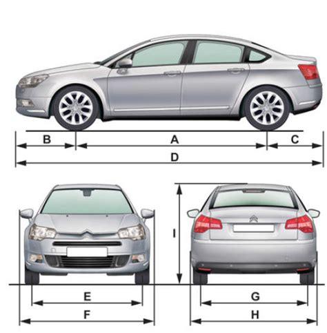 average width of a car manuel du conducteur citro 235 n c5 ii caract 233 ristiques techniques citro 235 n c5
