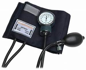 Blood Pressure Monitor Manual Bp Self Taking Heart