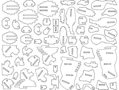 buffalo  puzzle dxf file   axisco