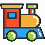 Icon Train Toys Toy Icons Transport Trains
