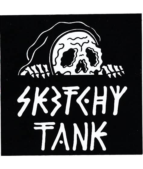Panic At The Disco Wallpaper Sketchy Tank Lurk Sticker