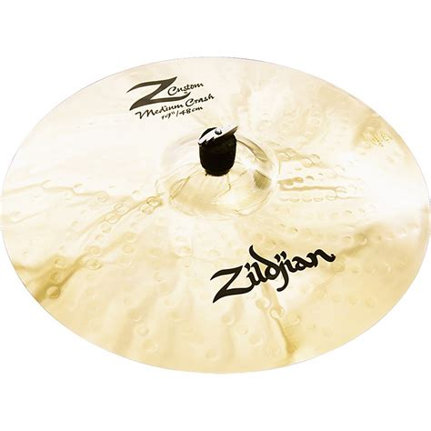 Zildjian Z Custom Medium Crash Cymbal  Musician's Friend