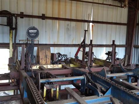 edmiston short log circular sawmill  sale north