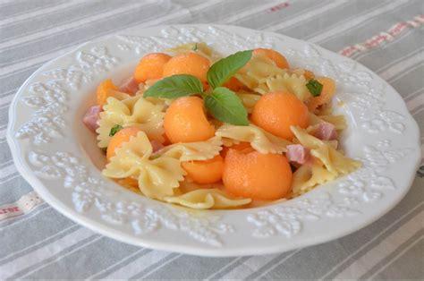 salade de p 226 tes melon jambon basilic